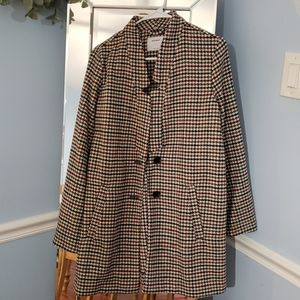 Old navy houndstooth peacoat